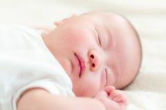 Bebé del sueño dulce Fotografía de archivo libre de regalías