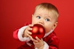 Bebê do Natal Imagens de Stock