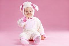Bebé en custume Foto de archivo