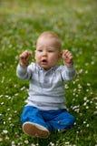 Bebé en naturaleza Imagen de archivo libre de regalías