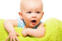 Bebé exigente Imagen de archivo libre de regalías