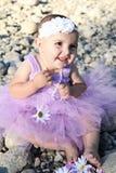 Bebé girl Fotografía de archivo libre de regalías