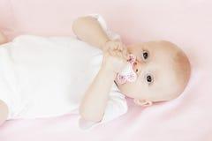 Bebé girl Fotos de archivo libres de regalías