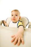 Bebé hambriento Fotos de archivo libres de regalías