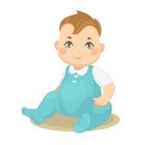 Bebé lindo del vector pequeño Foto de archivo