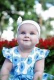 Bebé-muchacha linda Imagen de archivo libre de regalías