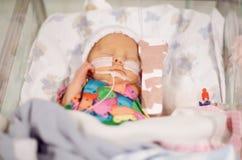 Bebé prematuro Imágenes de archivo libres de regalías