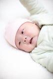 Bebê que consegue dormir Imagens de Stock Royalty Free