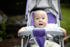 Bebê surpreendido Imagens de Stock Royalty Free