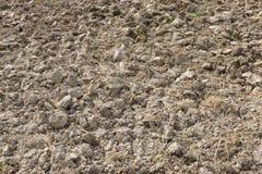 Bebauter Boden im Ackerland Lizenzfreie Stockfotografie