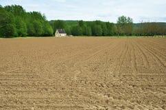 Bebautes Land Lizenzfreies Stockbild