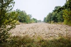 Bebautes Land Lizenzfreie Stockfotografie