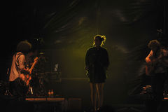 Bebe de concert Image stock