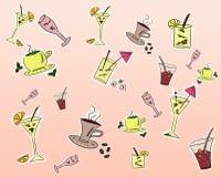 Bebe el fondo stock de ilustración