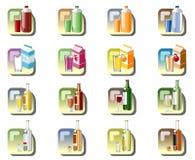 Bebe iconos Foto de archivo libre de regalías