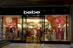 Bebe sklep odzieżowy zdjęcie royalty free