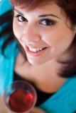 Bebedor do vinho Imagens de Stock Royalty Free