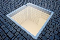 Bebelplatz Night of Shame Monument stock images