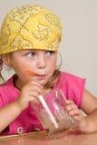 Beber da criança Fotografia de Stock Royalty Free