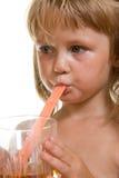 Beber da criança Imagem de Stock Royalty Free