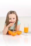 Beber da fruta Imagens de Stock