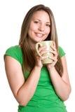 Beber da mulher Imagens de Stock Royalty Free