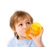 Beber do menino Imagem de Stock Royalty Free