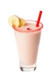Beber-misture com a banana Fotografia de Stock