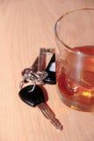 Beber no trabalho Fotografia de Stock Royalty Free