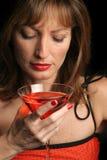 Beber sozinho Imagens de Stock