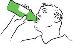 Bebida ilustração royalty free