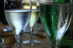 Bebida abstrata Foto de Stock