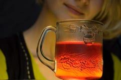 Bebida alaranjada Imagem de Stock