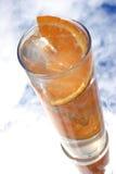 Bebida alaranjada Imagens de Stock
