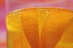 Bebida alaranjada Foto de Stock Royalty Free