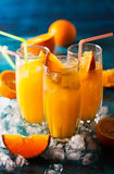 Bebida alaranjada fotos de stock royalty free