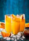 Bebida alaranjada imagens de stock royalty free