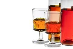 Bebida alcohólica Fotografía de archivo libre de regalías