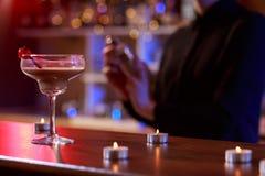 Bebida alcohólica de la leche fotografía de archivo libre de regalías