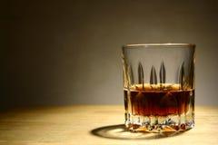 Bebida alcohólica en un vidrio Imagenes de archivo