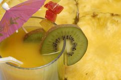 Bebida anaranjada imágenes de archivo libres de regalías