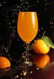 Bebida anaranjada Imagenes de archivo