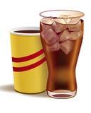 Bebida arbonated ¡de Ð Fotos de archivo
