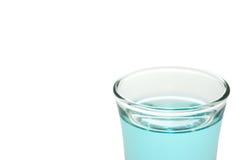 Bebida azul Fotografía de archivo libre de regalías