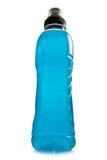 Bebida azul de la energía Fotos de archivo libres de regalías
