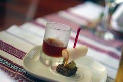 Bebida bem-vinda Imagens de Stock