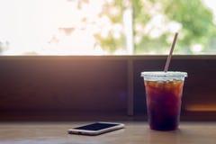 Bebida, café, fundo Fotografia de Stock