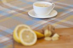 Bebida caliente del invierno - Ginger Tea Foto de archivo libre de regalías