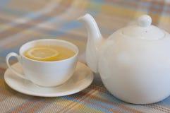 Bebida caliente del invierno - Ginger Tea Imagenes de archivo