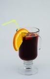 Bebida caliente reflexionada sobre del vino Fotografía de archivo